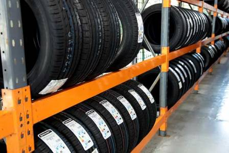 tyre replacement and storage