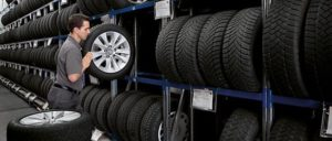 seasonal tire storage, сезонное хранение шин цена